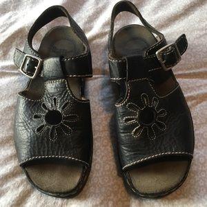 Vintage Flower Dr. Martens Sandals